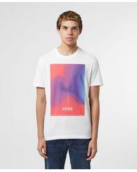 Michael Kors Sunset Short Sleeve T-shirt - White