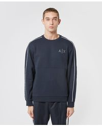 Armani Exchange - Piping Sweatshirt - Lyst
