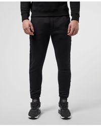 Calvin Klein Institutional Tape Fleece Trousers - Black