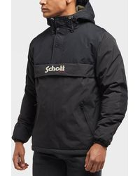 Schott Nyc - Husky Padded Overhead Jacket - Lyst
