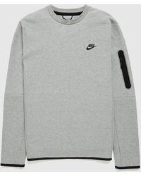 Nike Tech Fleece Sweatshirt - Grey
