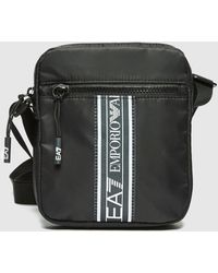 EA7 Tape Crossbody Bag - Black
