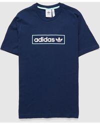 adidas Originals Linear Box T-shirt - Blue
