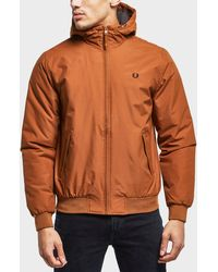 Fred Perry - Quilted Padded Brentham Jacket - Lyst