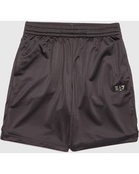 EA7 Gold Label Poly Shorts - Exclusive - Black