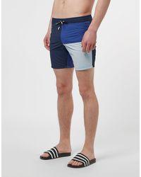 Lacoste Logo Swim Shorts - Blue
