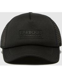 Barbour Heli Trucker Cap - Black
