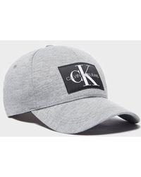 8409c9e9f02 Lyst - Calvin Klein Shutter Logo Trucker Cap in Black for Men