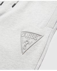 Guess High Build Tonal Sweatpants - Grey