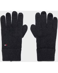 Tommy Hilfiger Flag Gloves - Black