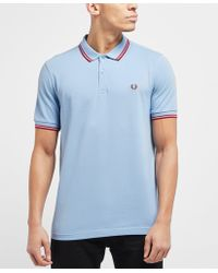 Fred Perry - Twin Tipped Short Sleeve Polo Shirt - Lyst