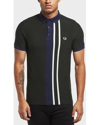 Fred Perry - Central Stripe Short Sleeve Polo Shirt - Lyst