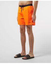 BOSS Starfish Orange Swim Shorts