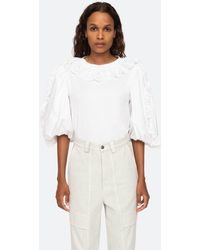 Sea Elodie T-shirt - White