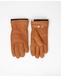 Norse Projects Tobacco Norse Utsjo Gloves - Brown