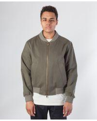 Sefton - Cotton Bomber Jacket - Lyst