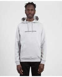 Norse Projects Light Gray Ketel 'good For All Seasons' Hoodie