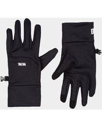 WOOD WOOD Holger Black Technical Gloves