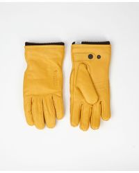 Norse Projects Rapeseed Utsjo Norse Gloves - Yellow