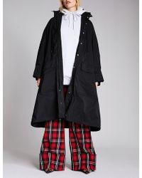 Balenciaga - Ladies Black Opera Raincoat - Lyst
