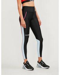 P.E Nation Saber High-rise Jersey leggings - Black