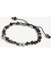 M. Cohen - Templar Jointed Silver And Gemstones Bracelet - Lyst