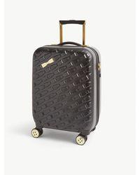Ted Baker Belleee Bow-embellished Plastic Suitcase - Black