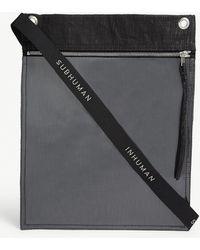 Rick Owens Drkshdw Large Pouch Cross-body Bag - Black