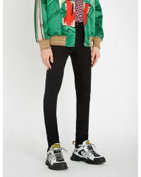 Gucci Slim-fit Super-skinny Jeans - Black