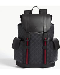 Lyst - Gucci Kingsnake Print GG Backpack In Brown in Brown for Men 4207aa94ba
