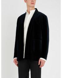 The Kooples - Kimono-style Velvet Jacket - Lyst