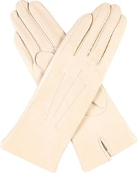 Dents - Classic Silk-lined Leather Gloves - Lyst