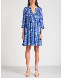 Ba&sh - Folly Floral-print Woven Dress - Lyst