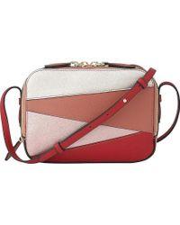 L.K.Bennett - Mariel Patchwork Leather Cross-body Bag - Lyst