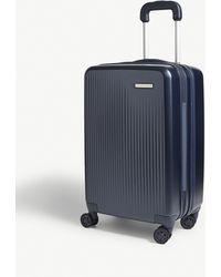 Briggs & Riley Sympatico Carry-on Expandable Four-wheel Suitcase 58cm - Blue