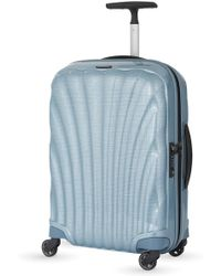 Samsonite Cosmolite Four-wheel Cabin Suitcase 55cm - Blue