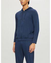 Derek Rose Basel Stretch-jersey Pyjama Bottoms - Blue