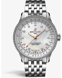 Breitling A17395211a1a1 Navitimer Automatic 35 Stainless-steel - Metallic