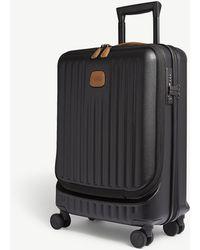 Bric's - Black Matt Stripe Capri Four Wheel Carry On Suitcase - Lyst