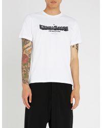 KENZO - Scope Logo-printed Cotton-jersey T-shirt - Lyst