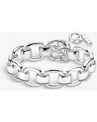 Thomas Sabo - Heritage Sterling Silver Curb Chain Bracelet - Lyst