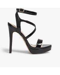 ALDO - Vigodia Leather Flat Sandals - Lyst
