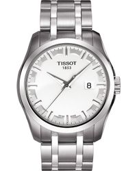 Tissot - T0354101103100 Couturier Stainless Steel Watch - Lyst