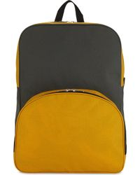 Comme des Garçons Two-tone Backpack - Yellow