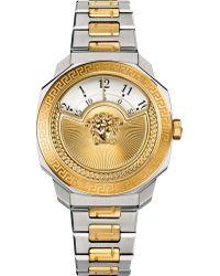 Versace - Vqdu040015 Dylos Two Tone Watch - Lyst