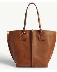 Chloé - Vick Medium Leather Tote - Lyst