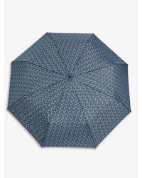 Ted Baker Alffred G903 Geo T Minilite Compact Umbrella 136cm - Black