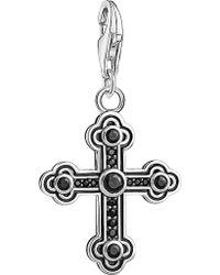 Thomas Sabo - Charm Club Sterling Silver Cross Charm - Lyst
