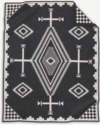 Pendleton Los Ojos Wool And Cotton-blend Blanket 163cm X 203cm - Multicolour