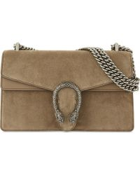 Gucci - Dionysus Small Suede Shoulder Bag - Lyst